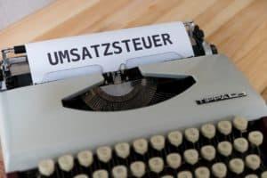 Umsatzsteuer-Identifikationsnummer - Nur nach schriftlichem Antrag